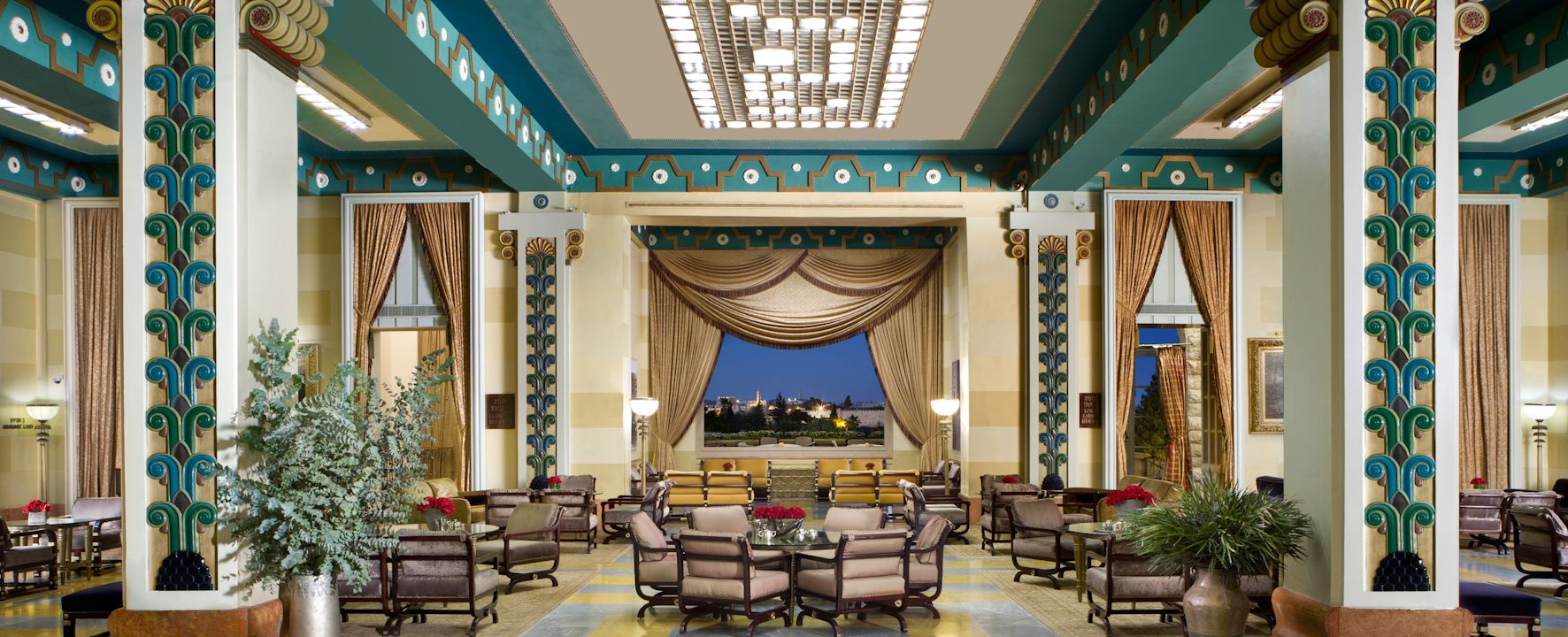 Prince William slept here: Take a vicarious tour of Jerusalem's King David hotel