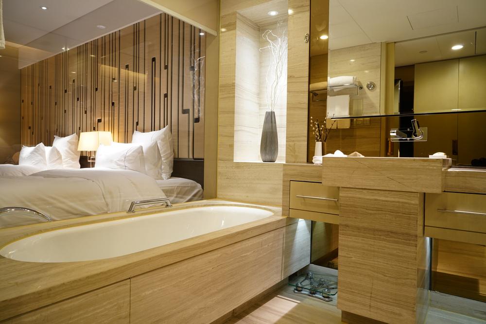 Open-plan rooms shouldn't include open-plan bathrooms
