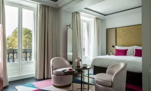 Your stay will be a sweet one at the newly-opened Fauchon L'hôtel Paris