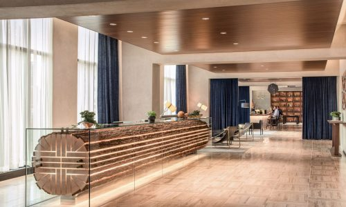 At the resort Parq Vancouver, you get two hotels-in-one