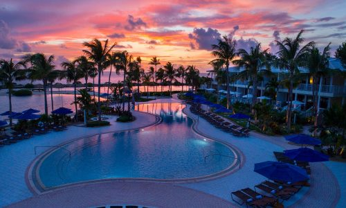 Discover the recently re-opened Hawks Cay resort on a small island midway down the Florida Keys