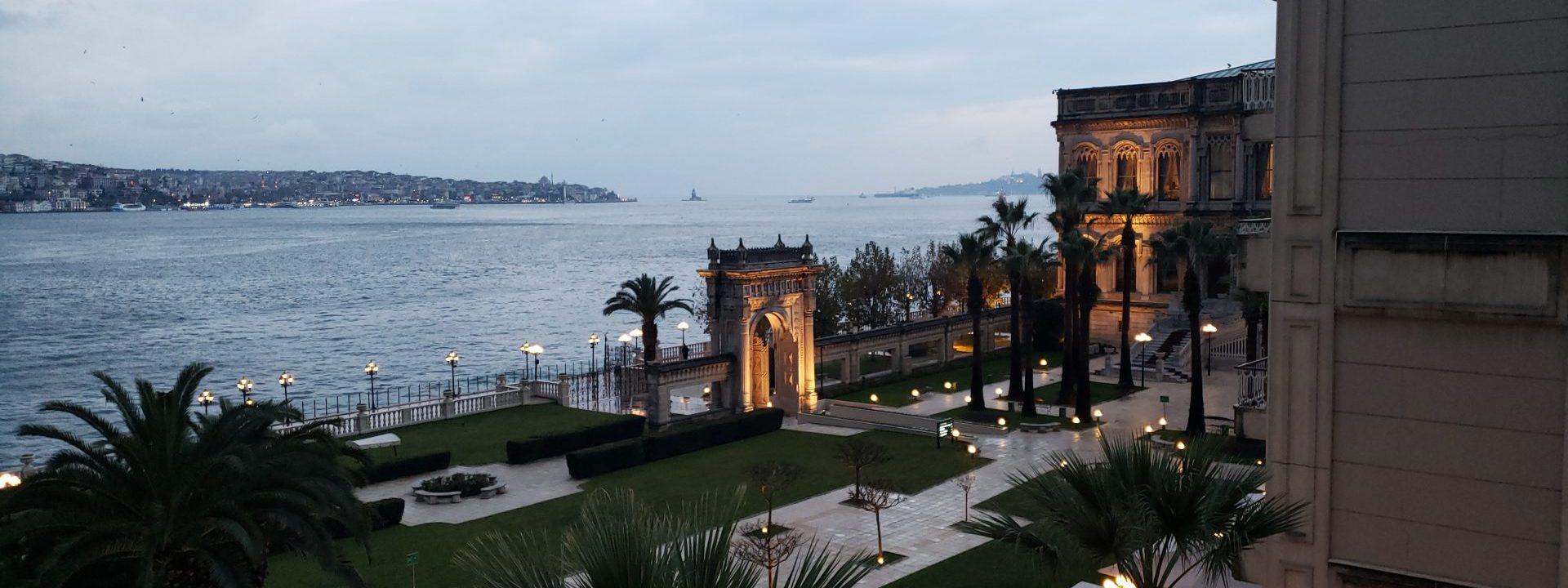 Be treated like royalty at Çırağan Palace Kempinski Istanbul