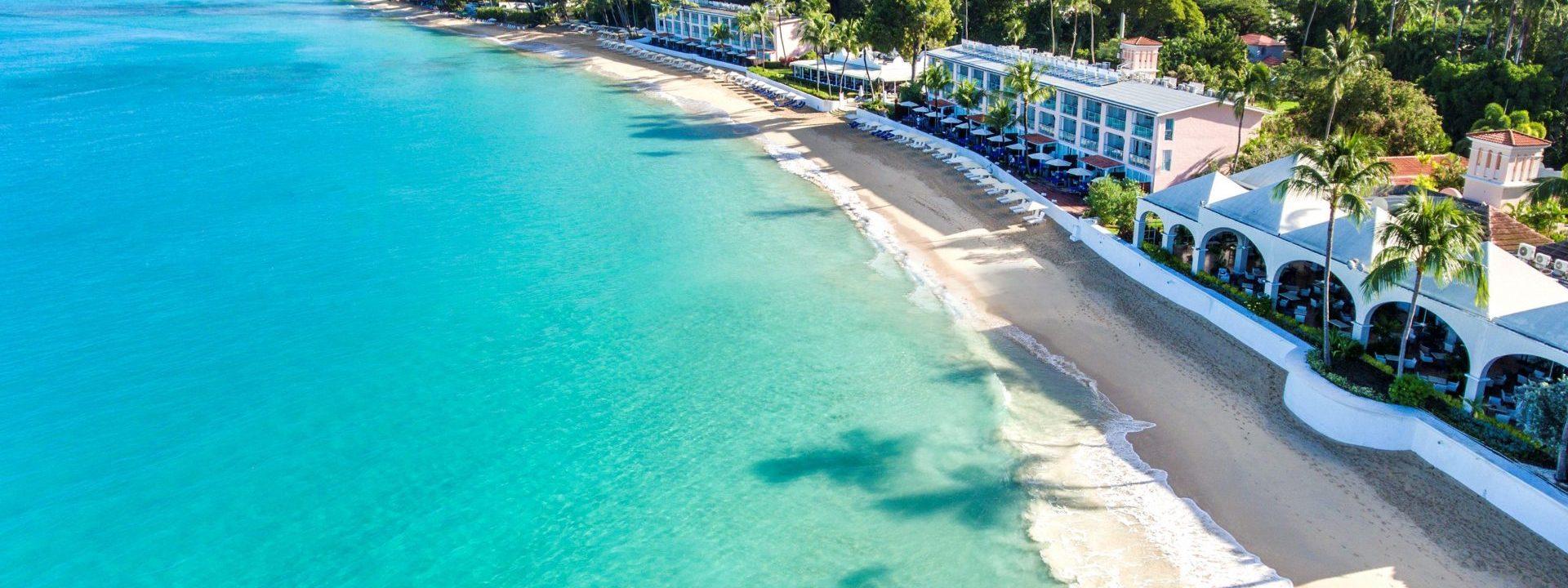 Barbados' Fairmont Royal Pavilion offers an idyllic beachfront setting