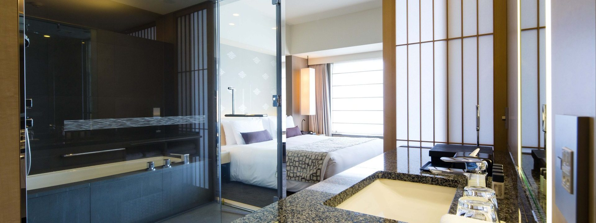 The Capitol Hotel Tokyu offers a rare amenity in Tokyo—space!