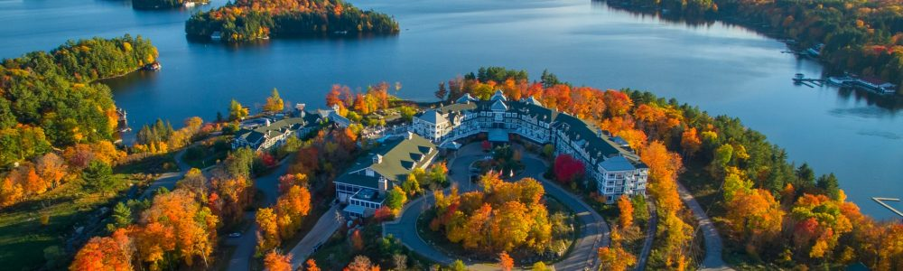 Top 6 Canadian hotels ideal for watching the changing of the leaves this fall