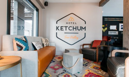 Mountain high! Hotel Ketchum puts you in the heart of outdoorsy pursuits