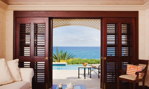 Swooping into Barbados's famed Crane Resort